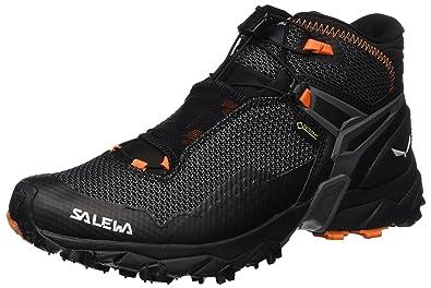 Salewa Men's Ultra Flex Mid GTX Mountain Training Shoe, Black/Holland, ...