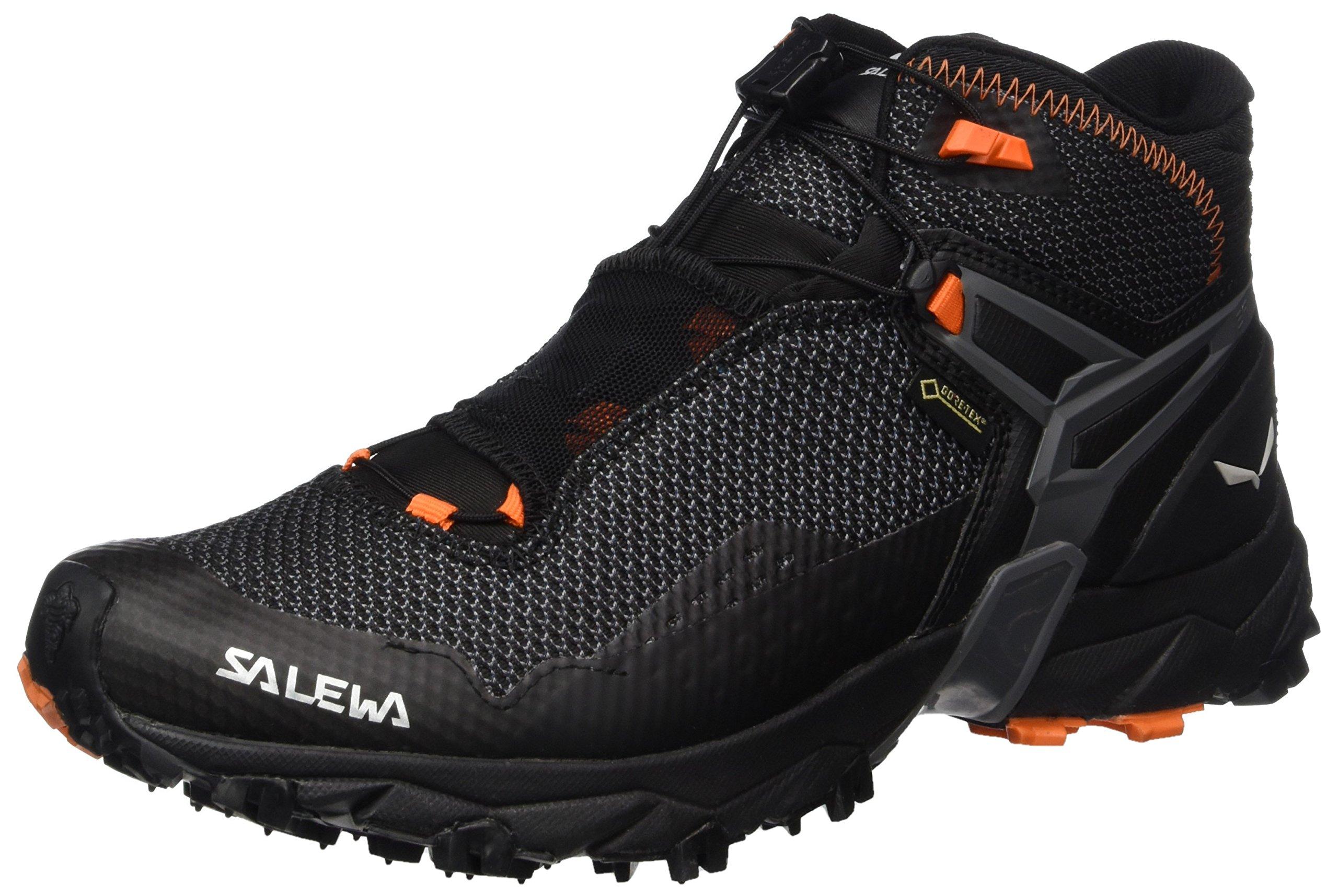 Salewa Men's Ultra Flex Mid Gtx Trail-Runners, Black/Holland, 11 D US