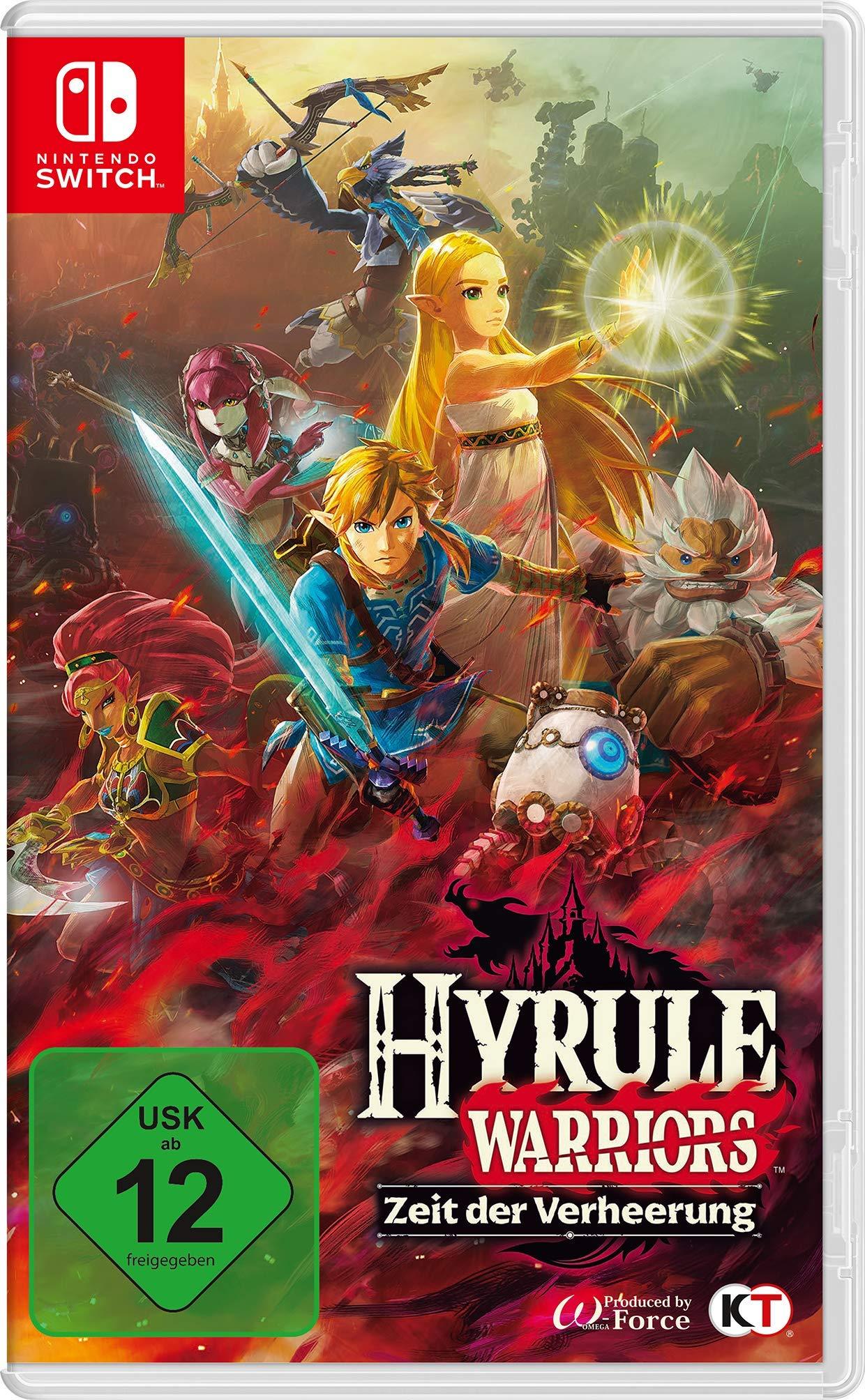 Hyrule Warriors Zeit Der Verheerung Fur Nintendo Switch Amazon Co Uk 0045496427016 Books
