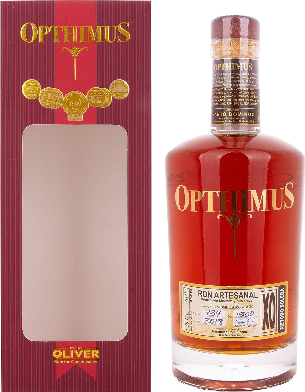 Opthimus XO Summa Cum Laude Rum in Gift Box - 700 ml