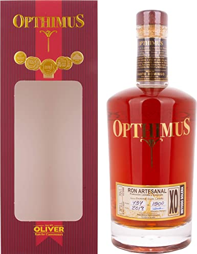 Opthimus XO Summa Cum Laude Rum in Gift Box - 700 ml