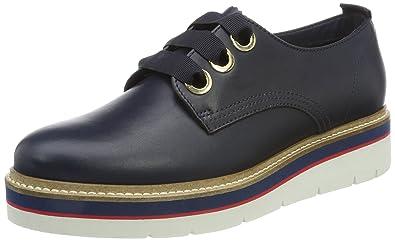 76c728c8d49ad Tommy Hilfiger Women s M1285anon 4a Derbys  Amazon.co.uk  Shoes   Bags