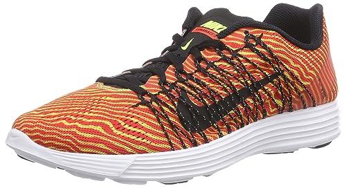 new styles e1e2d 2d10b Nike Lunaracer+ 3 - Zapatillas para Hombre, Color Rojo (Bright  CrimsonBlack-vlt-White 603), Talla 45.5 Amazon.es Zapatos y complementos