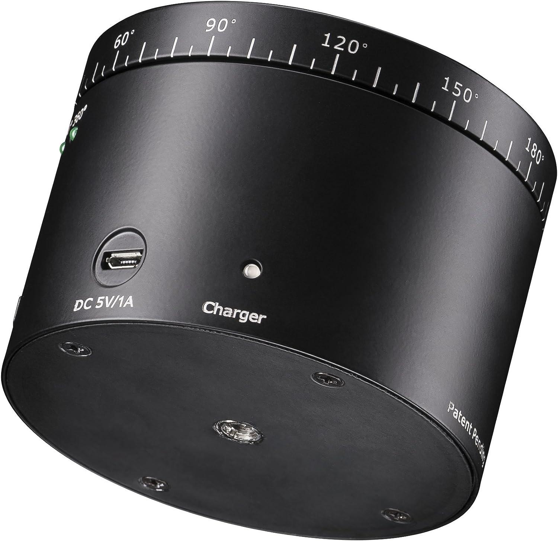 testa panoramica Mantona turnaround 360 testa treppiede automaticamente rotante