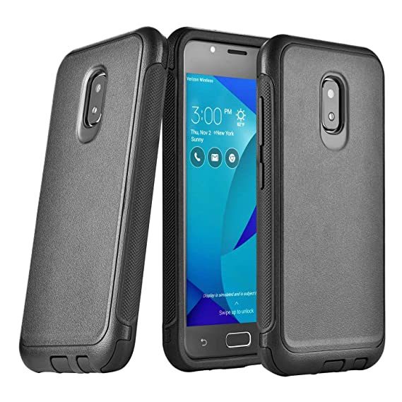 info for 052e8 42635 Asus Zenfone V Live Case Rugged Heavy Duty Dual Layer Black A009 V500KL  (IKON CASE)