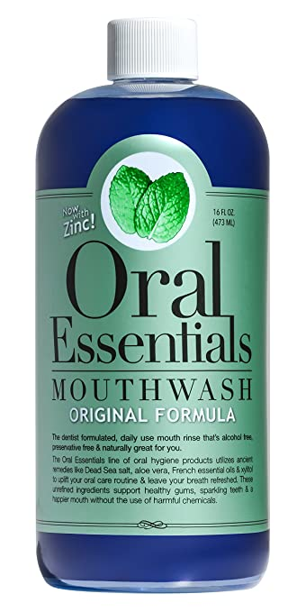 best sugar and alcohol free mouthwash