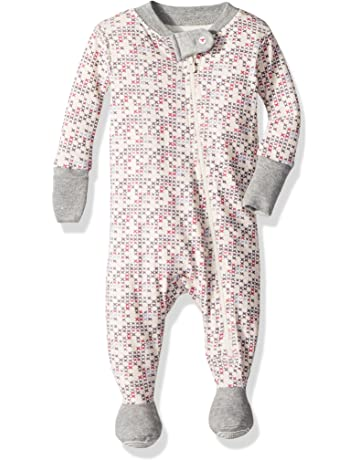 6a96df3d1031 Burt s Bees Baby - Baby Girls Sleeper Pajamas