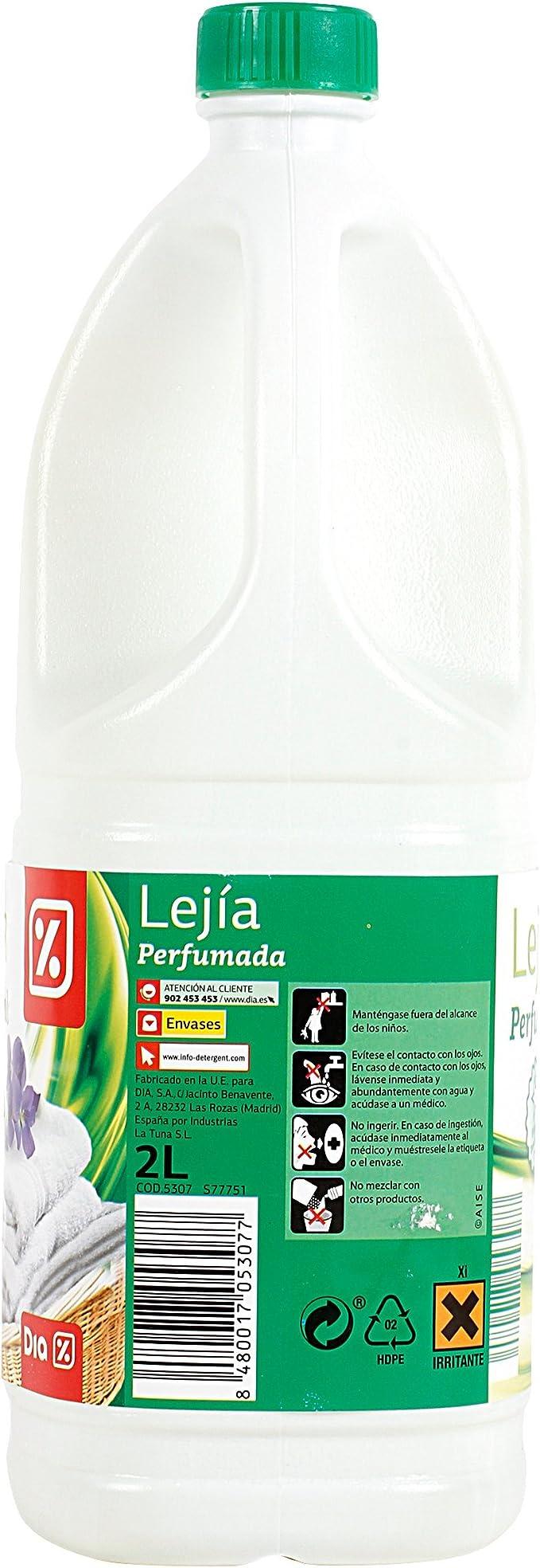 DIA - Lejía Ropa Perfumada Botella 2 Lt: Amazon.es: Alimentación y bebidas