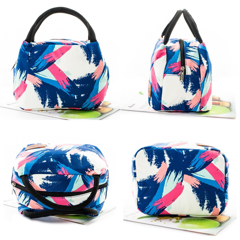 Sac /à D/éjeuner Lunch Bag Protection de Fra/îcheur pour Travail Ecole Pique-Nique winmax Sac Isotherme Sac de Repas pour Hommes Femmes Enfants