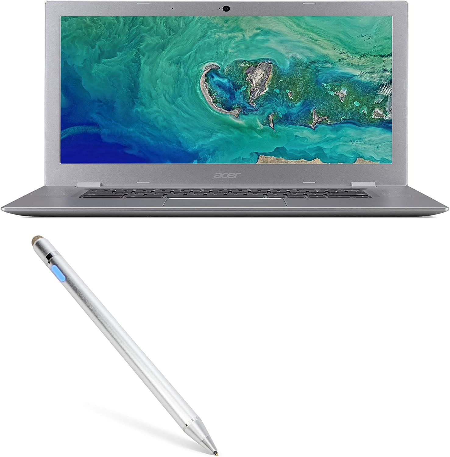 Broonel Red Fine Point Digital Active Stylus Pen Compatible with The Acer Chromebook 311 C721 11.6
