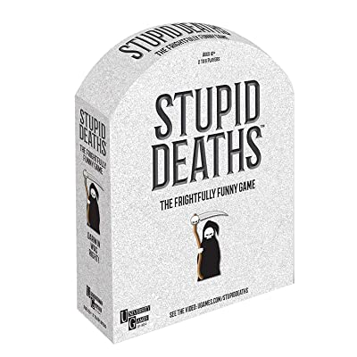 University Games Stupid Deaths Board Game: Toys & Games