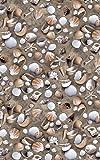 Alles rund um Heim Venus Décor autocollant plage sable moules 45 x 150