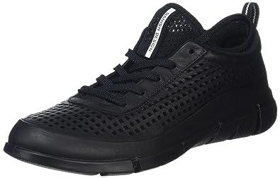 Ecco Soft 8 Low Schwarz, Damen EU 37 - Farbe Black Damen Black, Größe 37 - Schwarz
