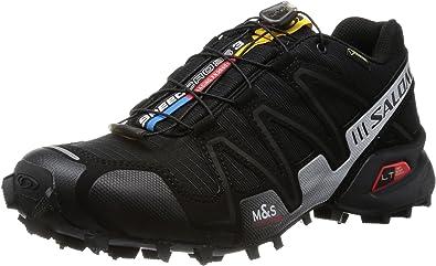 Salomon Speedcross 3 Gtx - Zapatos para hombre, color negro, talla 40 2/3: Amazon.es: Zapatos y complementos