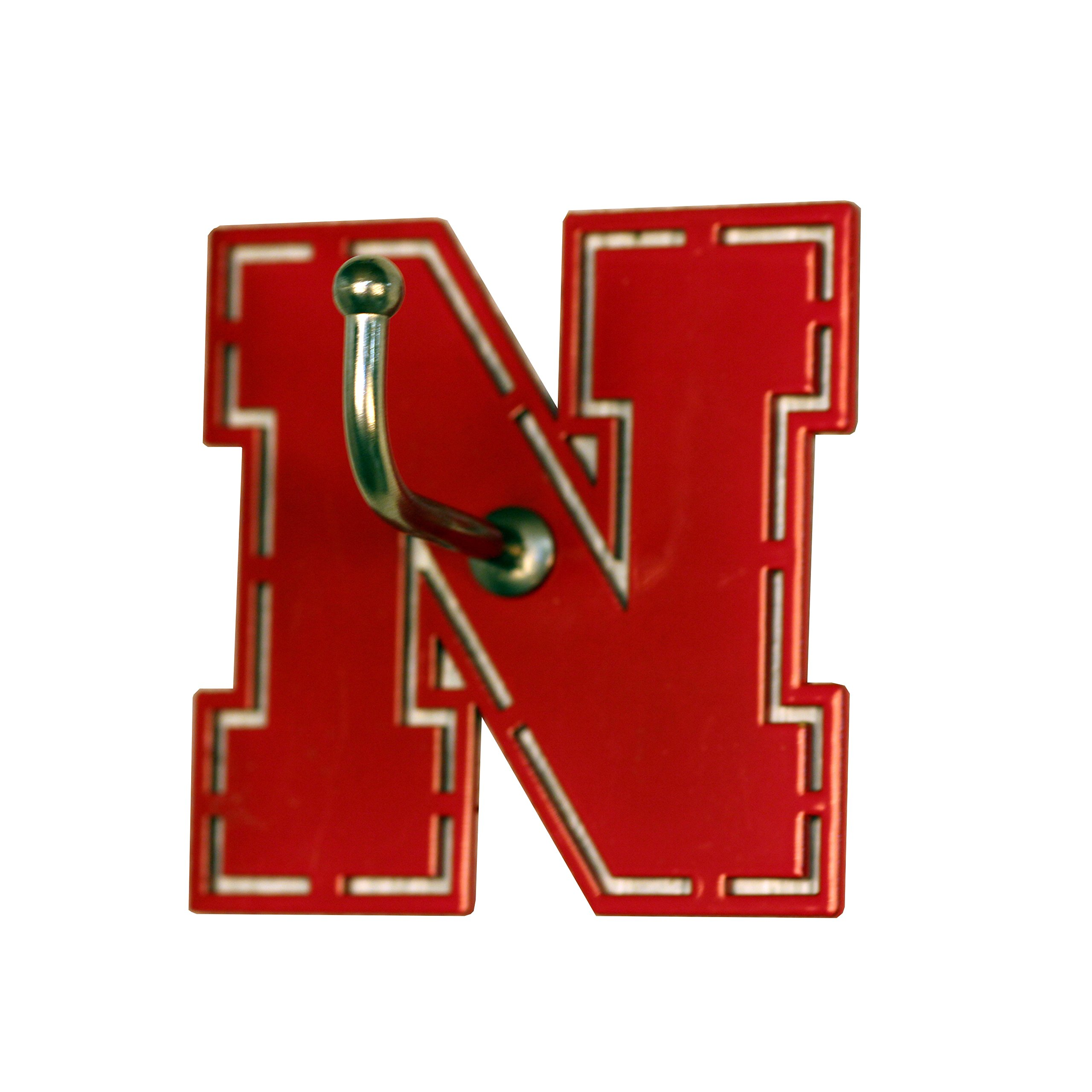 Henson Metal Works Nebraska Collegiate Medium Color Logo Wall Hook