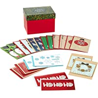 Hallmark Boxed Handmade Christmas Cards Assortment (Set of 20 Special Holiday Greeting Cards and Envelopes)
