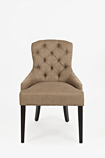 Amazon.com: Jofran CH Pierce Accent Chair Easy Living ...