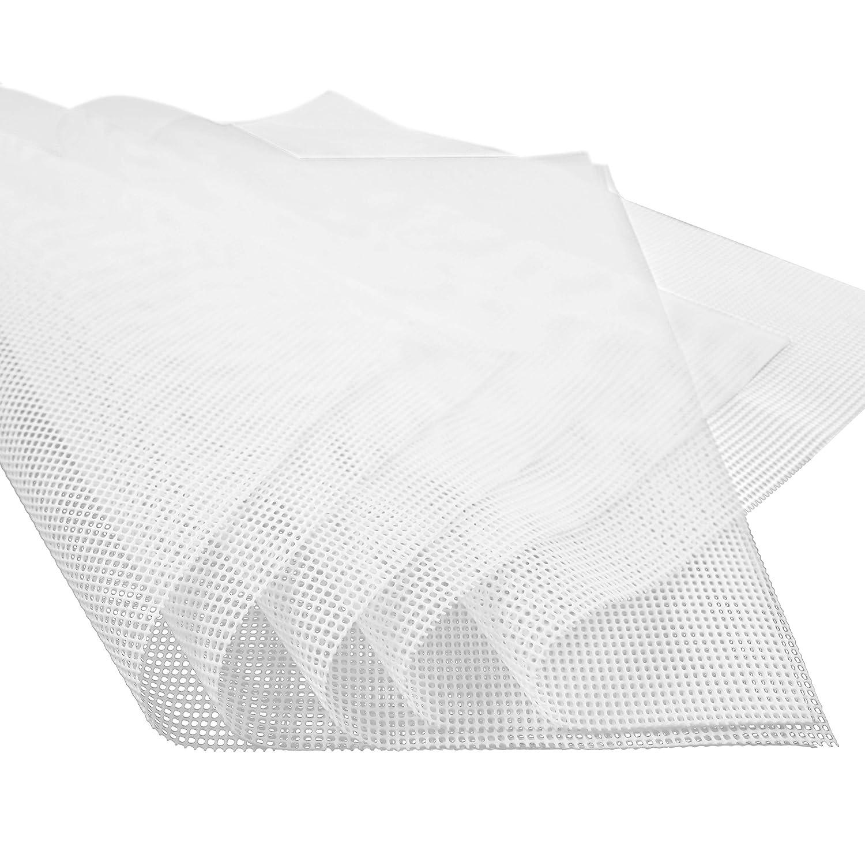 GUGUJI Pack of 5 Premium Non stick Silicone Dehydrator Sheets For Fruit Dryer Mesh GUGUJI-GG-008