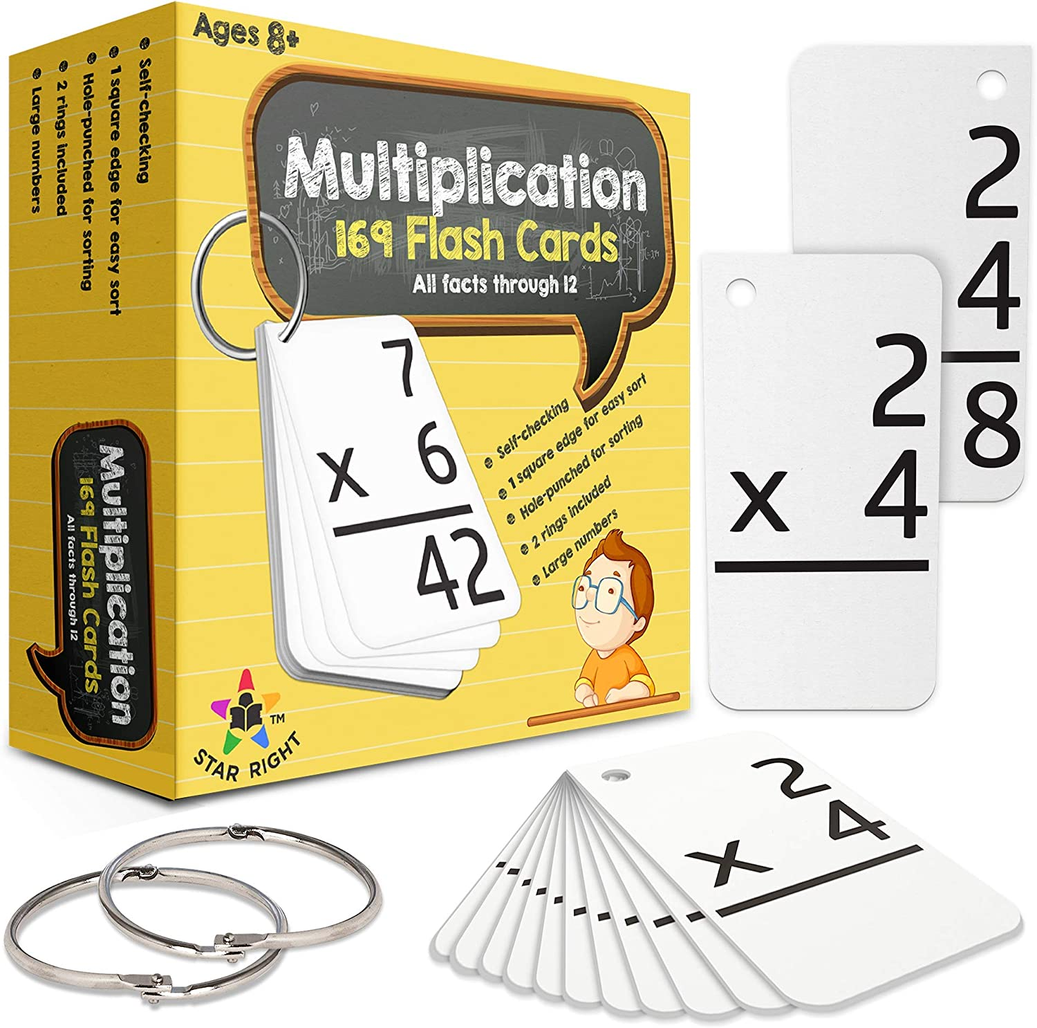 It is an image of Lucrative Printable Multiplication Flashcards With Answers on Back