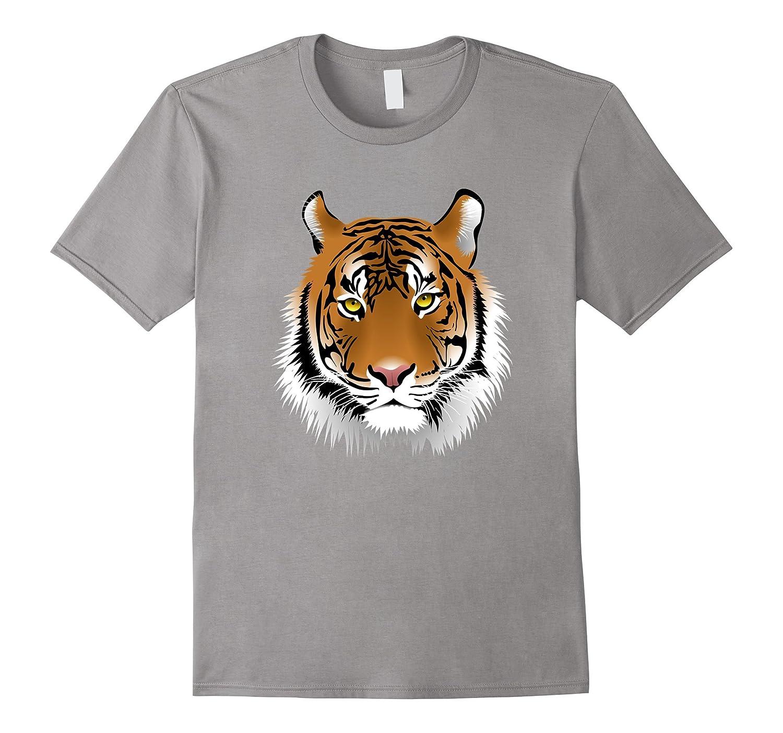 Wildlife Protection Tiger Face T-Shirt - Retro Fashion Tee-4LVS