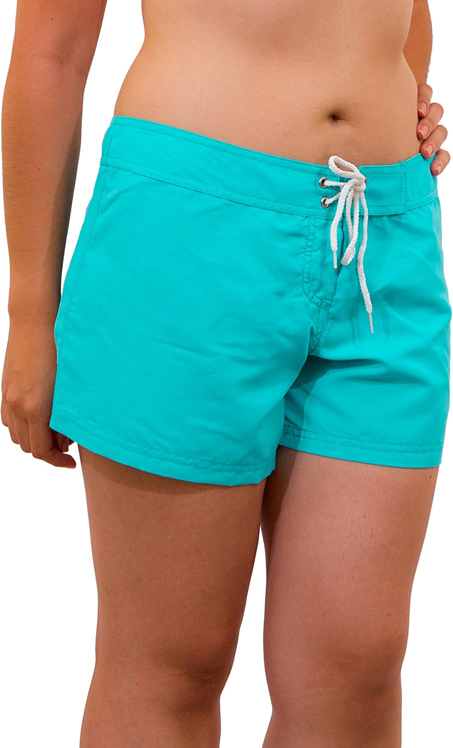 Point Conception Juniors Solid Hip Riding Boardshort