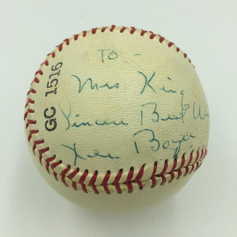 Ken Boyer Signed Baseball - Rare COA Carrdinals - JSA Certified - Autographed Baseballs