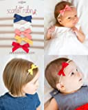 "5 Ribbon Bows on Nylon Headbands Multi-packs for Baby and Girls. {Scarlett Robin Brand} (ribbon ""softs"")"