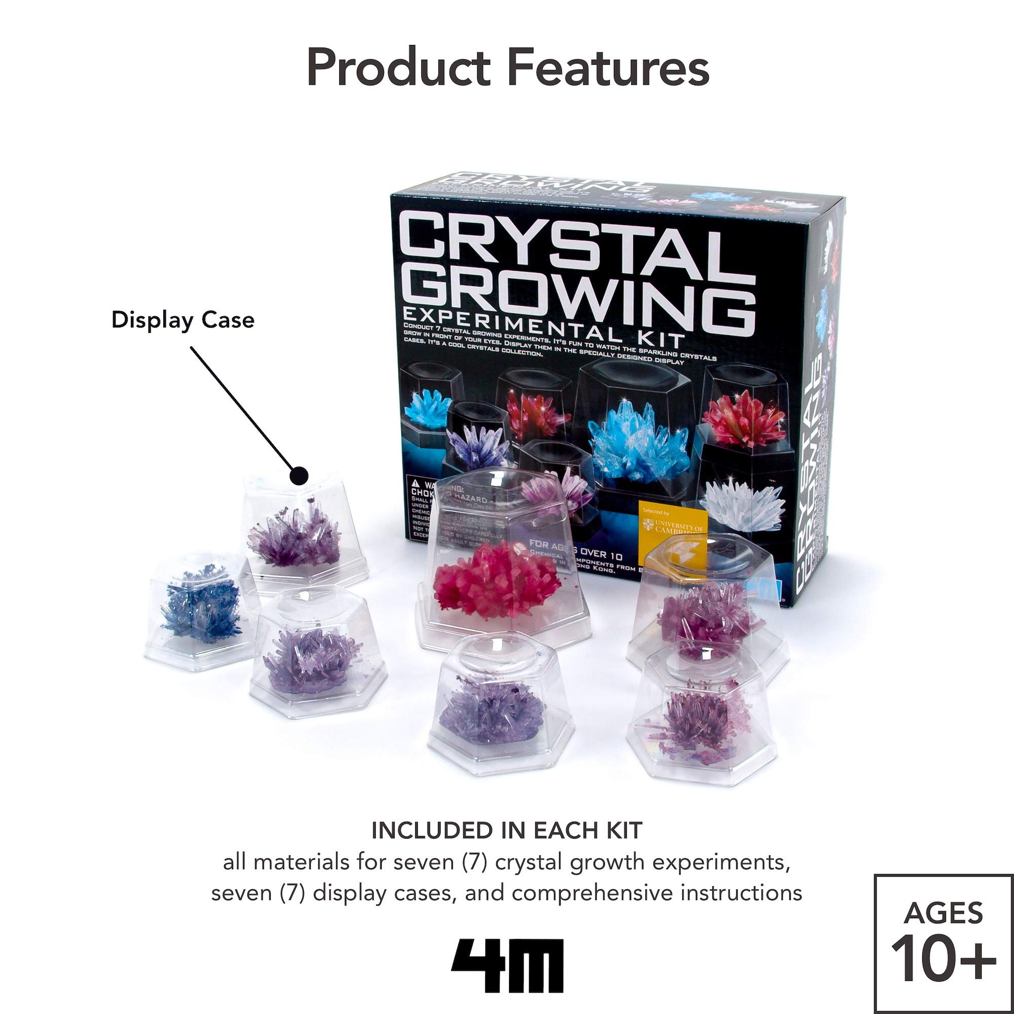 4m Crystal Growing Science Experimental Kit Easy Diy
