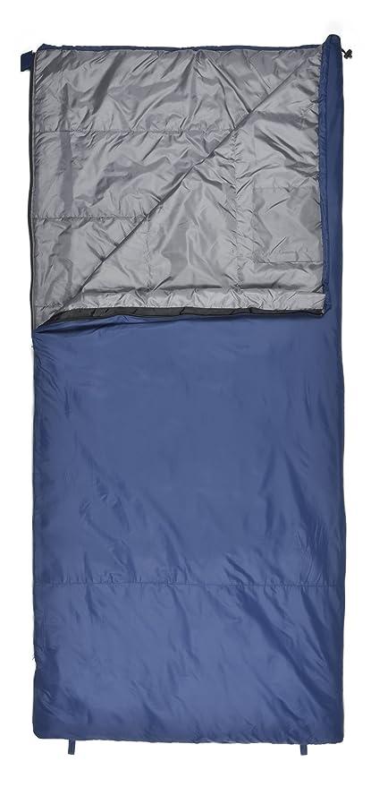 newest 4d642 881bb Chinook Superlite Rectangular 45-Degree Synthetic Sleeping Bag, Blue