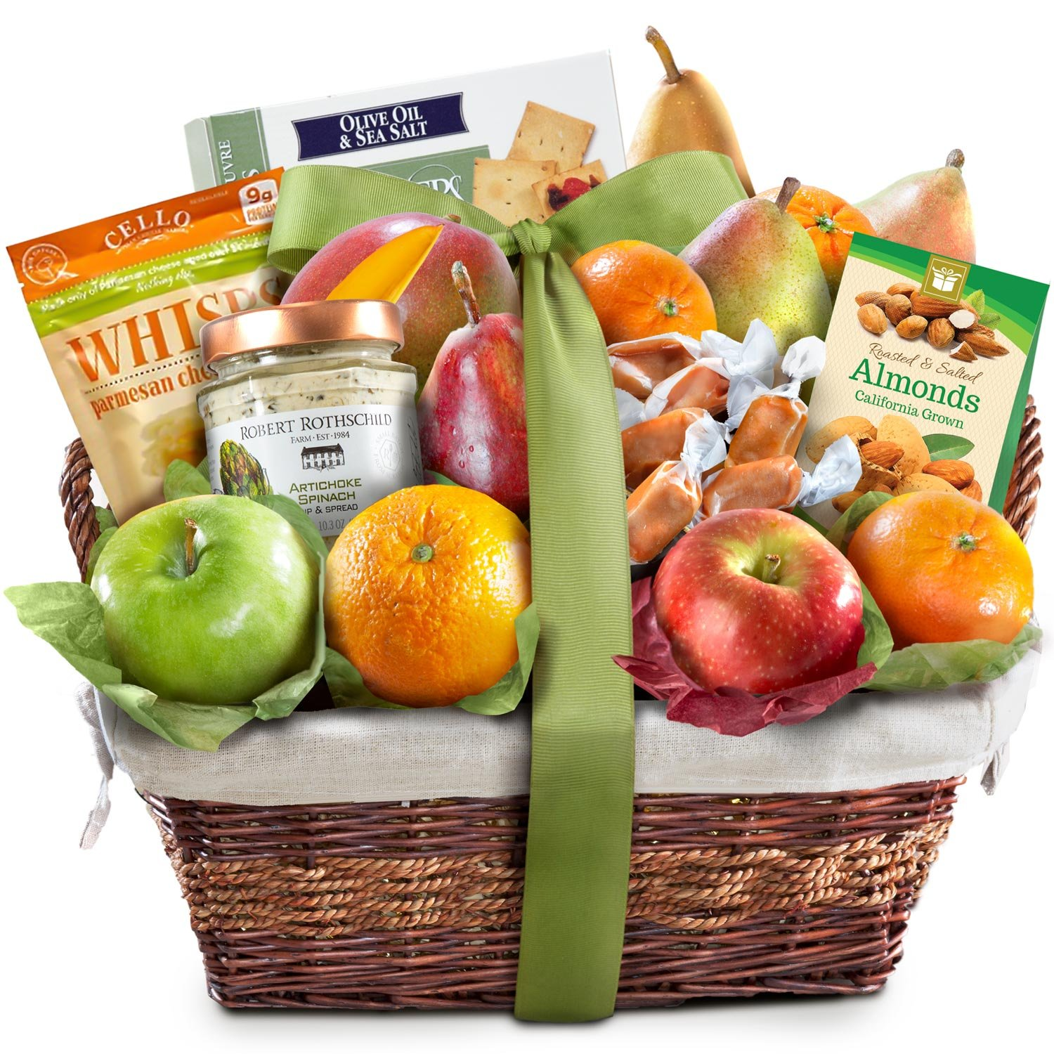 Deluxe Gourmet Fruit Basket Gift by Golden State Fruit (Image #1)