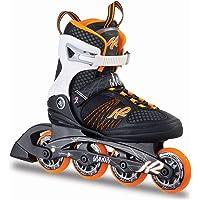 K2 Damen Inline Skates Alexis 80 - schwarz-weiß-orange - 30A0104.1.1