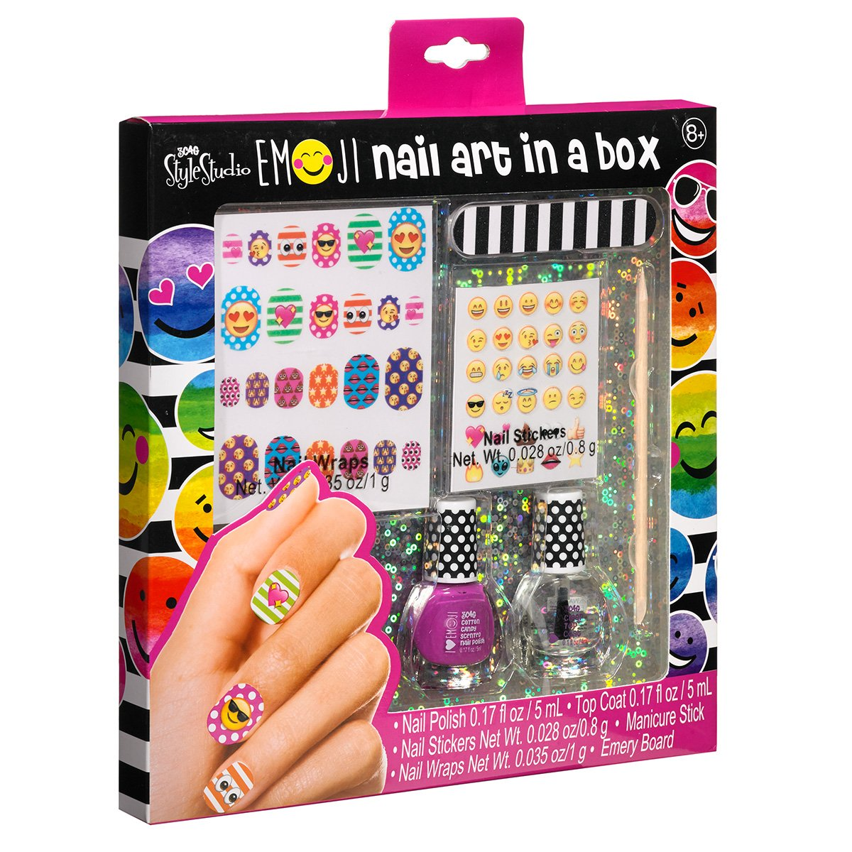 85off 3c4g three cheers for girls nail polish nail art kit in a 85off 3c4g three cheers for girls nail polish nail art kit in a box prinsesfo Images