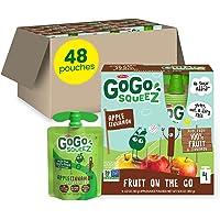 48-Count GoGo squeeZ Apple Cinnamon 3.2 Ounce Applesauce