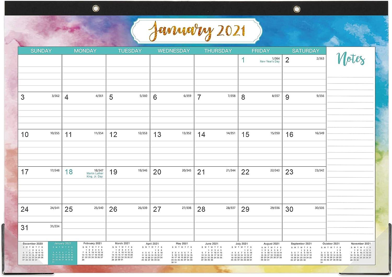 Amazon.: 2021 Desk Calendar   Yearly Desk Calendar 2021, Desk