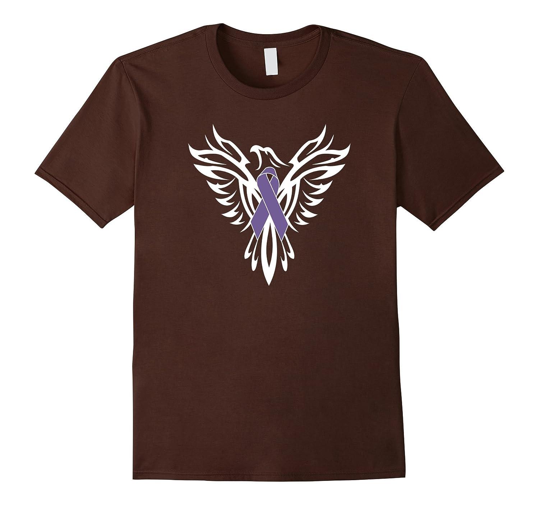 Foster Care Awareness T Shirt Lavender Ribbon Phoenix