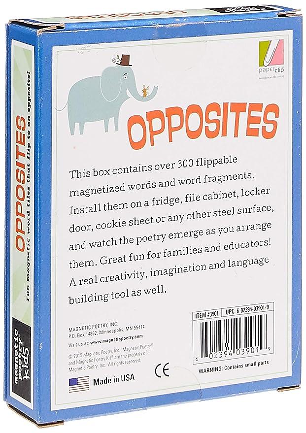 Poesía magnética – Kit de oppositas, palabras para el refrigerador ...