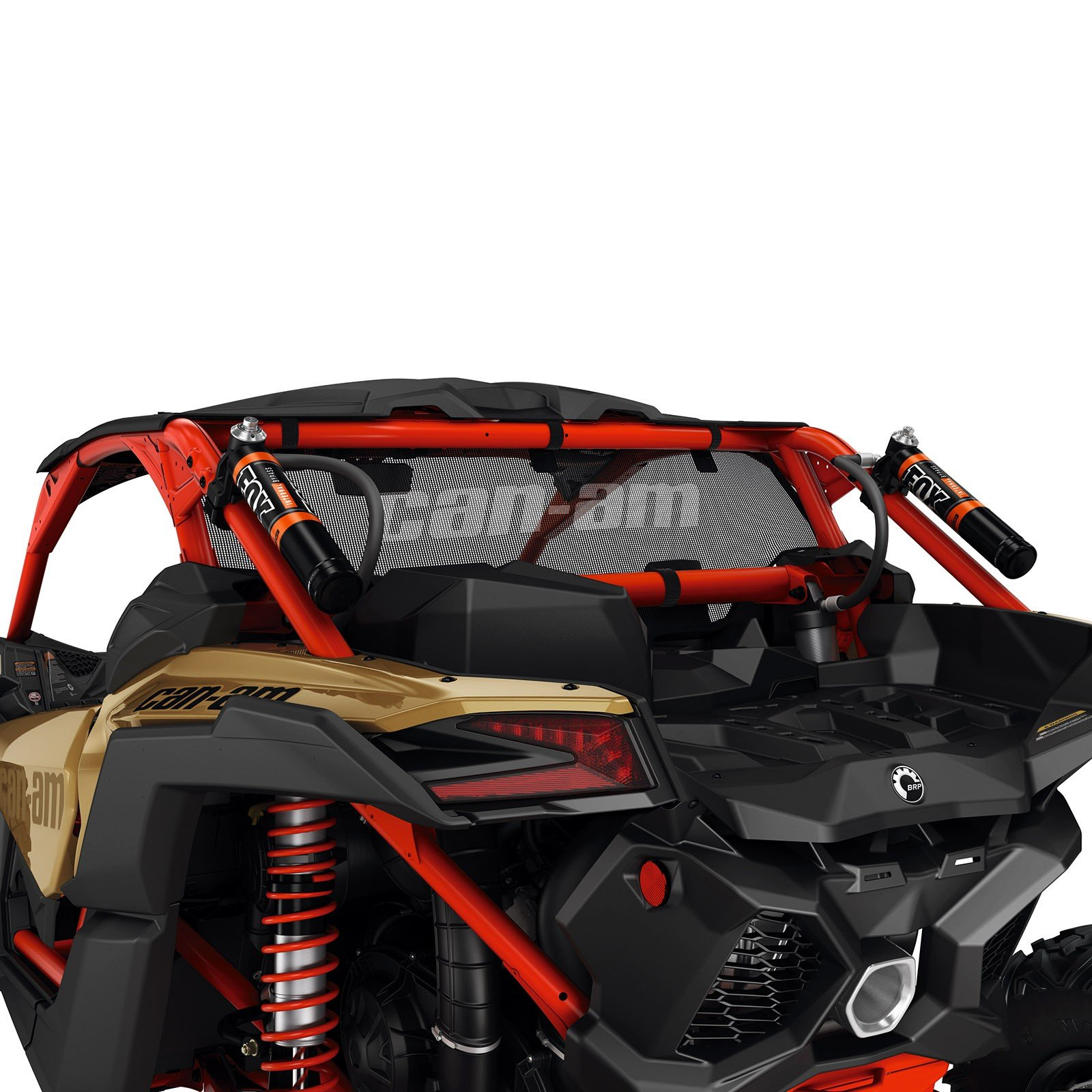 Can-Am New OEM Maverick X3 Black Mesh Rear Windscreen, 715002897