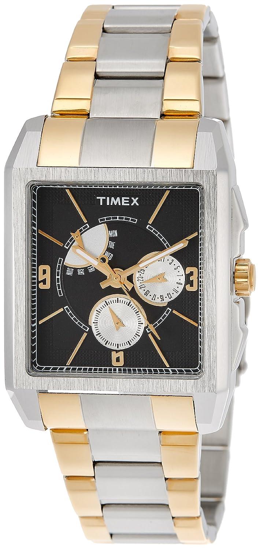Timex e-classアナログブラックダイヤルメンズ腕時計 – j302 B00BHWJO02