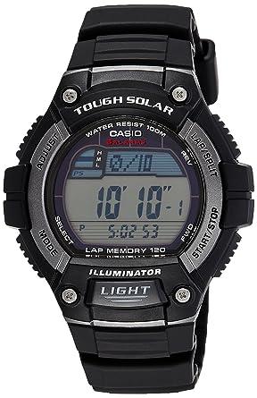 e37d6ac48 Amazon.com: Casio Men's WS220-1A Tough Solar Digital Sport Watch ...