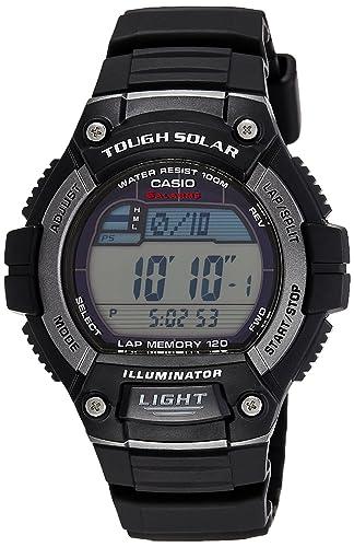 4ce5093c1749 Amazon.com  Casio Men s WS220-1A Tough Solar Digital Sport Watch  Casio   Watches