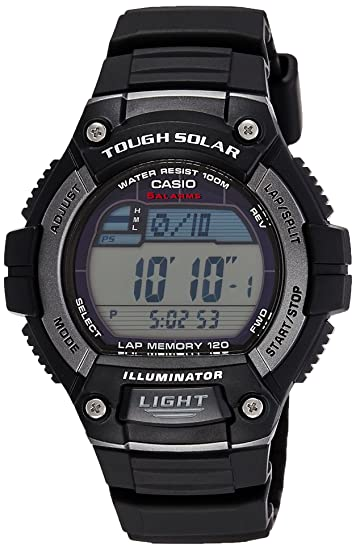 Casio Tough Solar - Reloj Deportivo (51.7 x 49.8 x 14.6 mm, 46 g