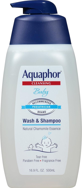 Aquaphor Baby Wash and Shampoo