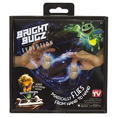 Bright Bugs Evolution Toys - Experience the Magic of Light-Up Bugs - Learn Cool Illusion Tricks - Try the Holobeam for Even More Fun - Ages 3 and Up - Green: Sports & Outdoors