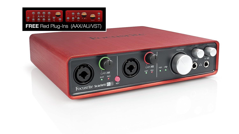 FOCUSRITE SCARLETT 6I6 Interfaccia audio USB