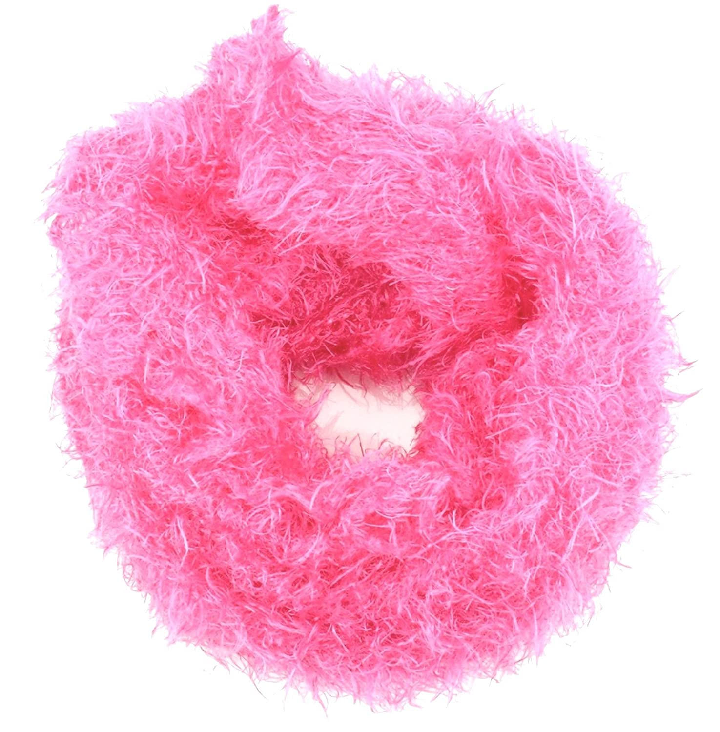 Girl's Fluffy, Furry Long Winter Scarf Several Colours Available Rjm Girl's Fluffy GL174-3
