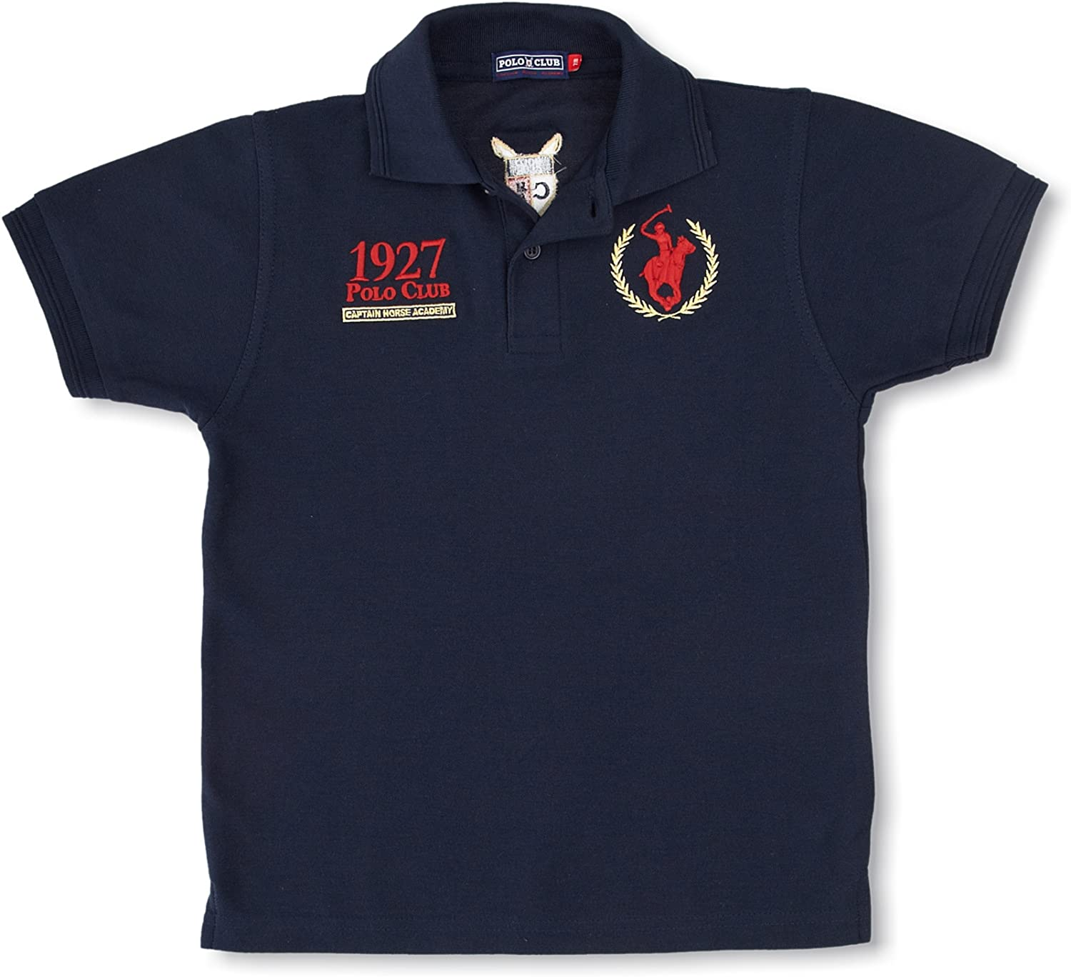 POLO CLUB Captain Horse Academy Polo Missouri Azul Marino 3-4 años ...