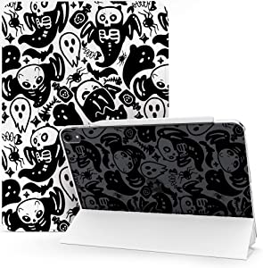Lex Altern Case Compatible with iPad Pro 12.9 2020 11 Air 4 3 2 10.2 8th Gen 2019 2018 10.5 inch Mini 5 9.7 Ghost Halloween Cats Skeleton Bats Protective Flip Clear Magnetic Spooky Cute Cover mch055