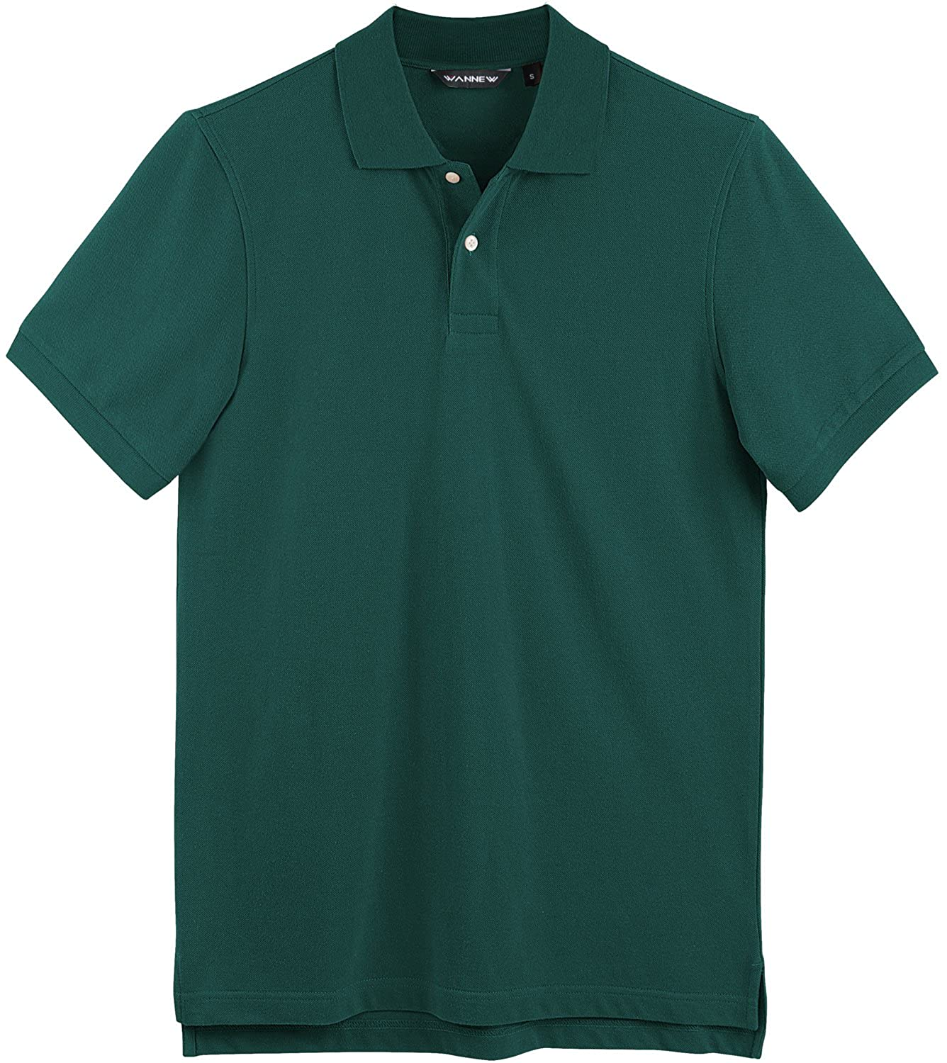 9f2c58f7 Which natural stretch fabric moves with you and keeps you cool and dry. Mens  polo shirts with Regular fit ...