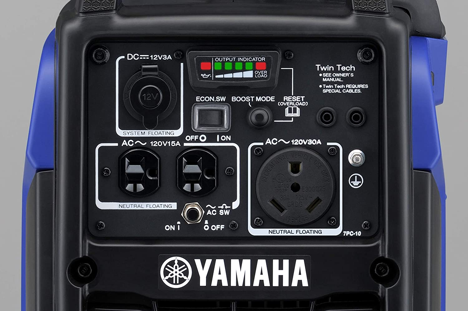 Outlets offered by Yamaha EF2200iS