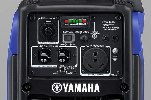 Yamaha EF2200iS Inverter Generator, 2200 Watts, Blue